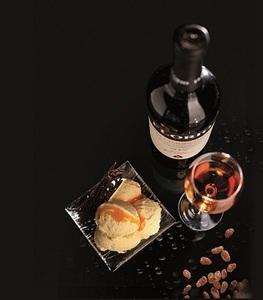 Dessert wijn ijs